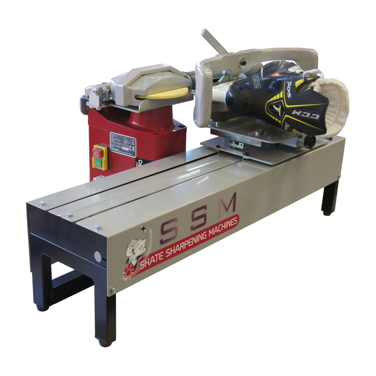 Skate sharpener SSM TT-3 with skate