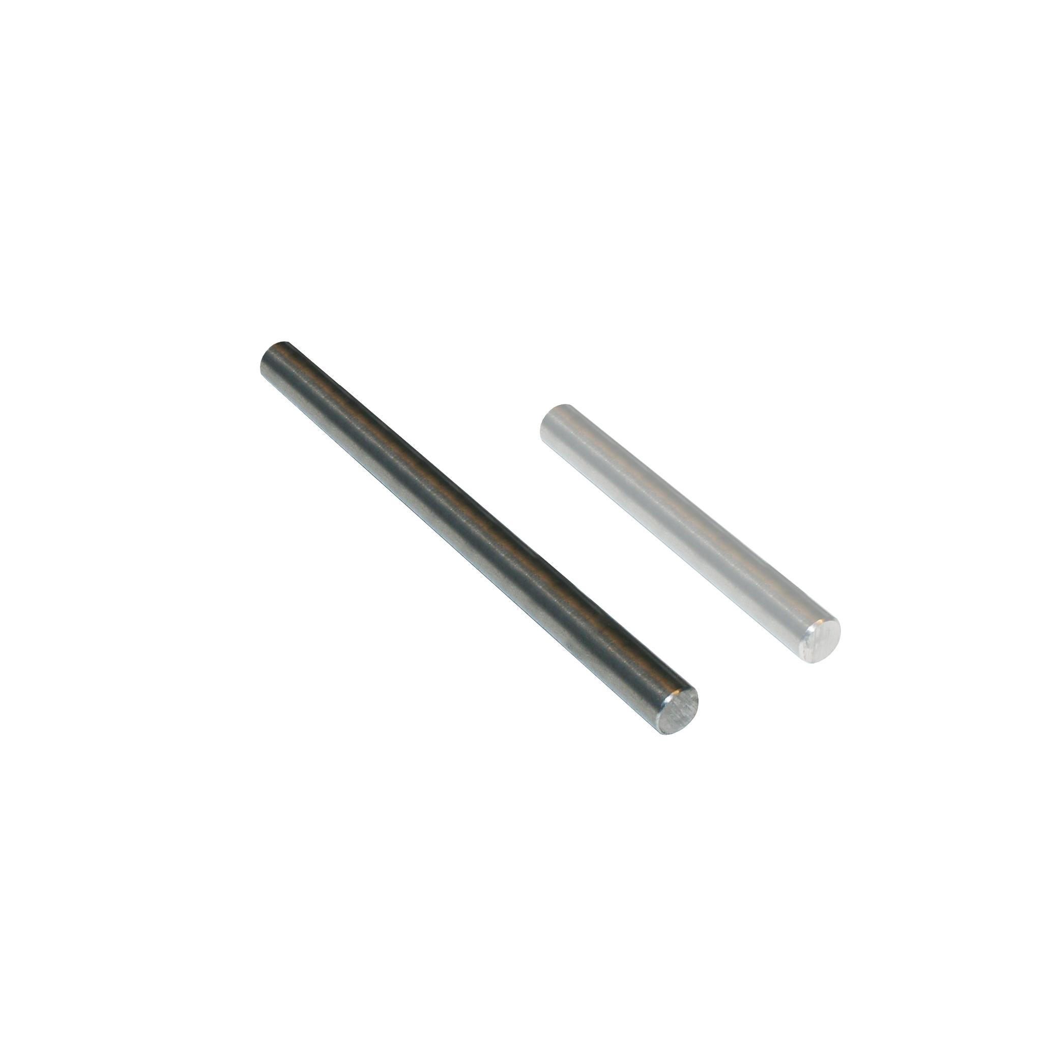 Metal shaft for holder