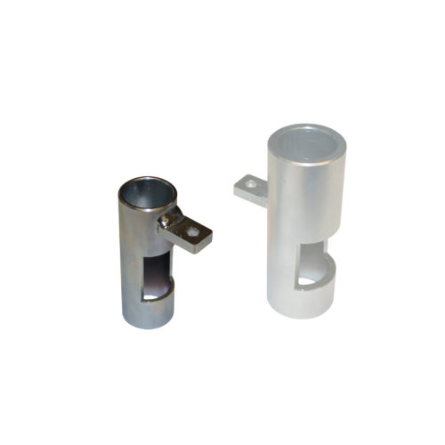 Glide tube for tool holder