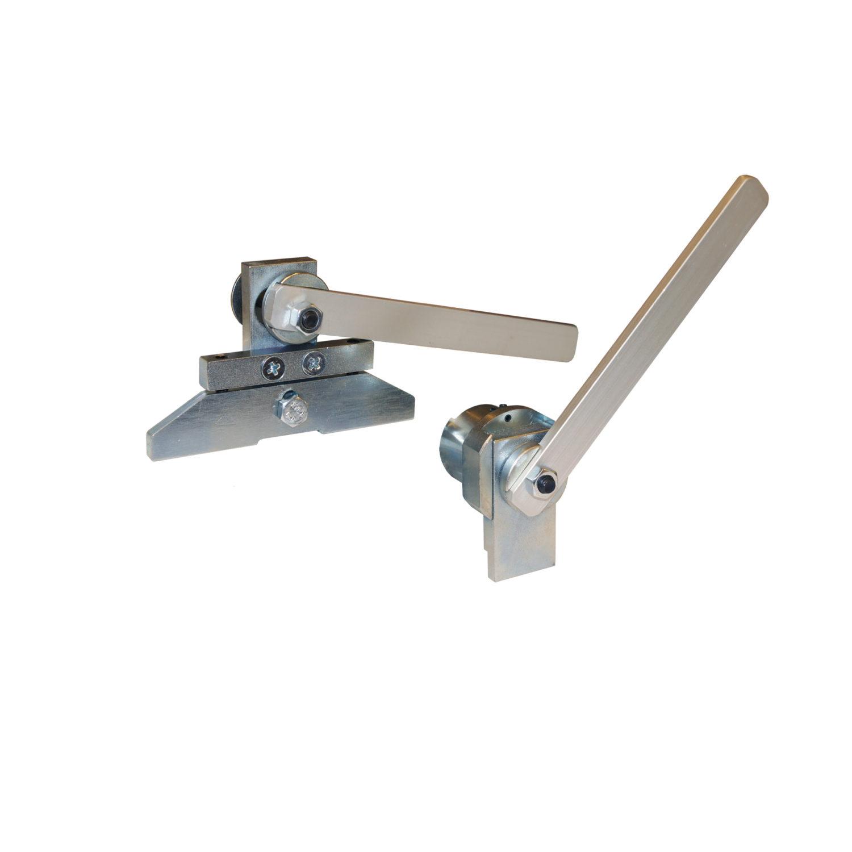 Locking device for skate holder