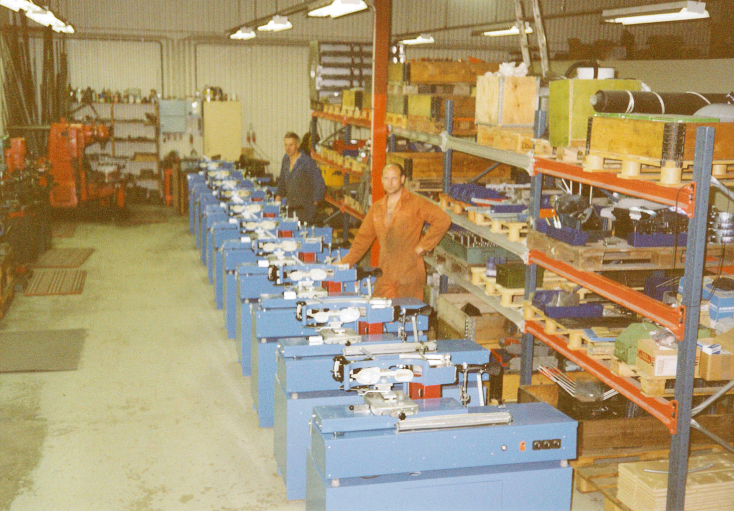 Production line of SSM 900