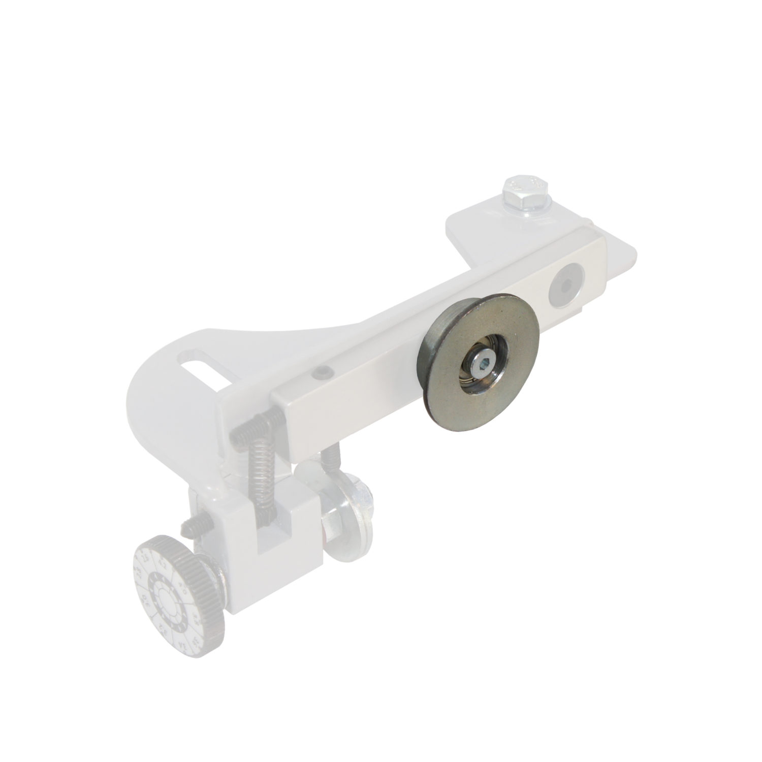 Roller for blade support device